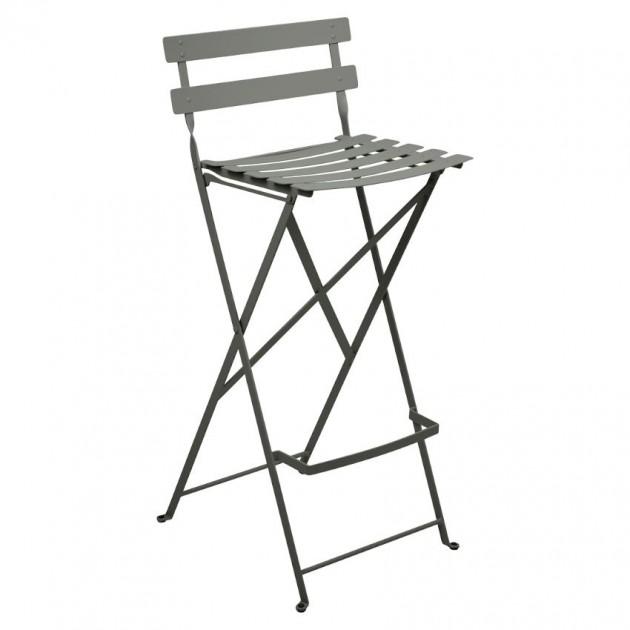 На фото: Барний стілець Bistro Rosemary (511348), Барний стілець Bistro Fermob, каталог, ціна