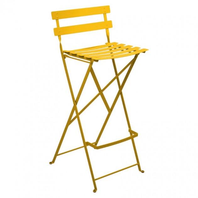 На фото: Барний стілець Bistro Honey (511373), Барні стільці Fermob, каталог, ціна