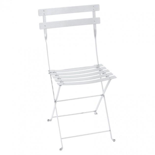 На фото: Cкладаний стілець Bistro Cotton White (010101), Стілець Bistro Metal Fermob, каталог, ціна