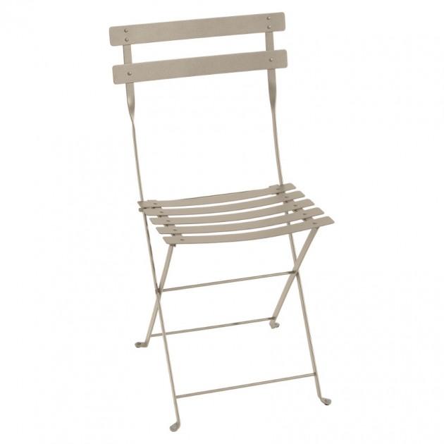 На фото: Cкладаний стілець Bistro Nutmeg (010114), Стілець Bistro Metal Fermob, каталог, ціна