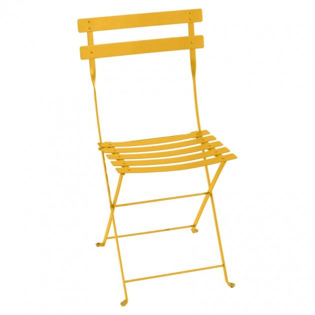На фото: Cкладаний стілець Bistro Honey (010173), Стілець Bistro Metal Fermob, каталог, ціна