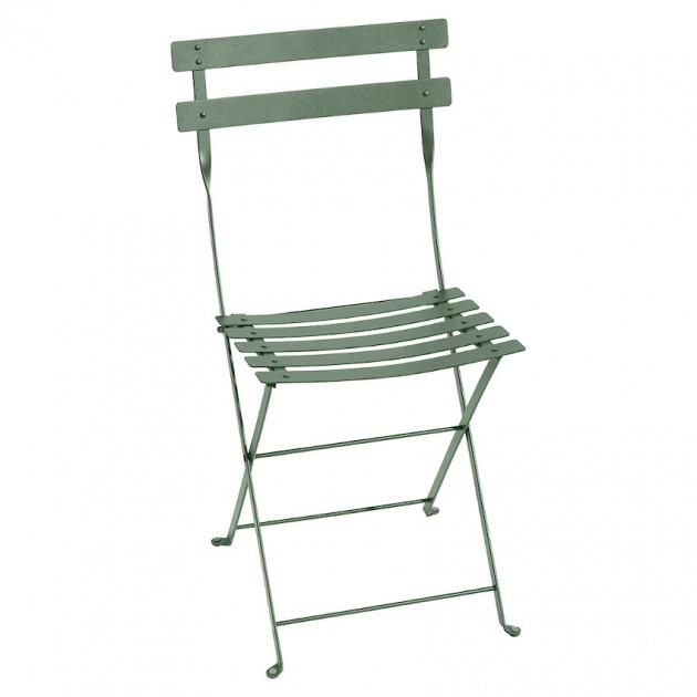 На фото: Cкладаний стілець Bistro Cactus (010182), Стілець Bistro Metal Fermob, каталог, ціна