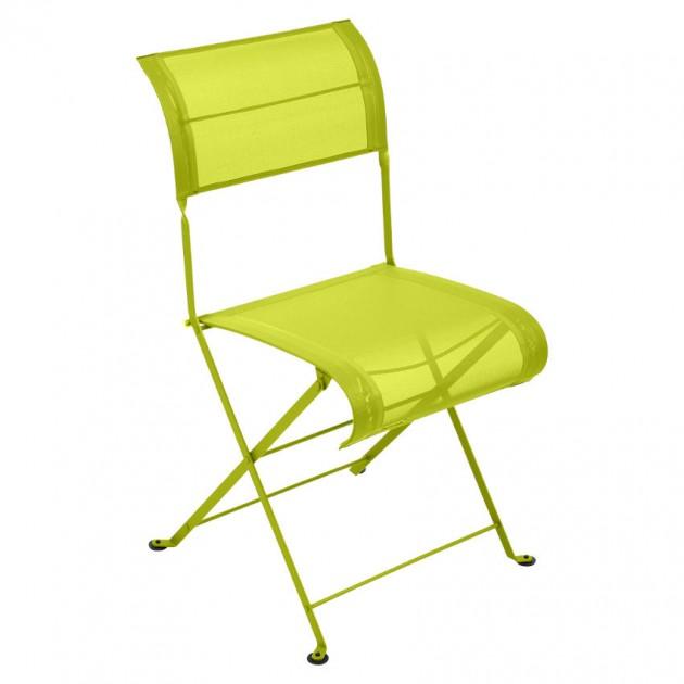 На фото: Складаний стілець Dune Verbena (120129), Стілець Dune Fermob, каталог, ціна