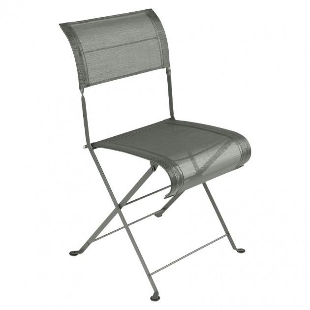 На фото: Складаний стілець Dune Rosemary (120148), Стілець Dune Fermob, каталог, ціна