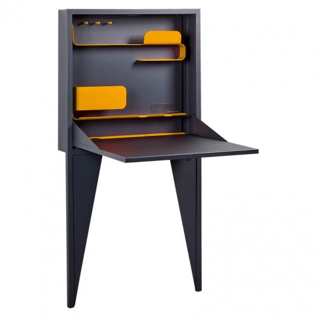 На фото: Письмовий стіл Face-a-Face Honey (32094773), Письмові столи Fermob, каталог, ціна