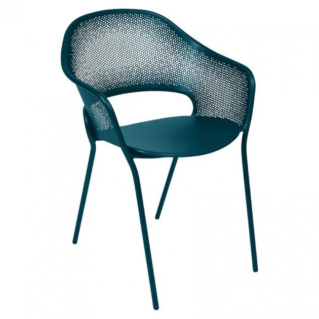 На фото: Садове крісло Kate (730221), Крісло Kate Fermob, каталог, ціна