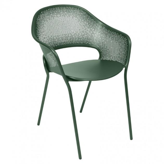 На фото: Садове крісло Kate (730202), Крісло Kate Fermob, каталог, ціна