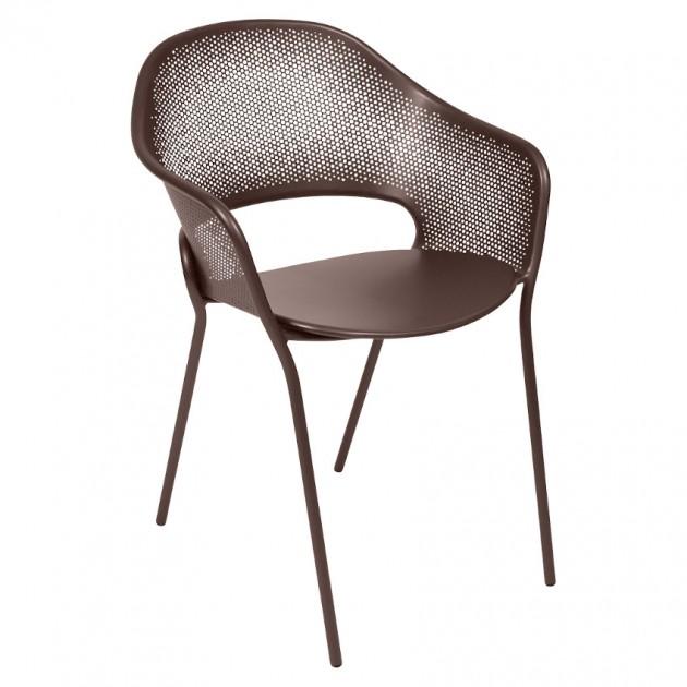 На фото: Садове крісло Kate (730209), Крісло Kate Fermob, каталог, ціна