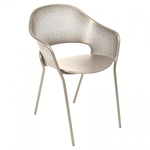 На фото: Садове крісло Kate (730214), Крісло Kate Fermob, каталог, ціна