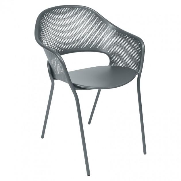 На фото: Садове крісло Kate (730226), Металеві крісла Fermob, каталог, ціна