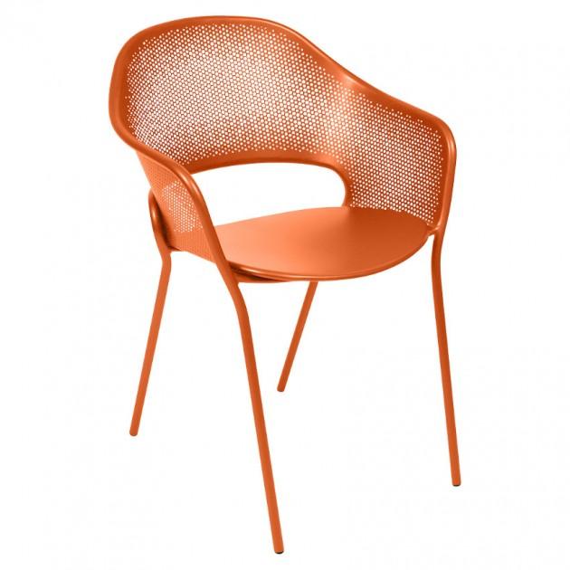 На фото: Садове крісло Kate (730227), Металеві крісла Fermob, каталог, ціна