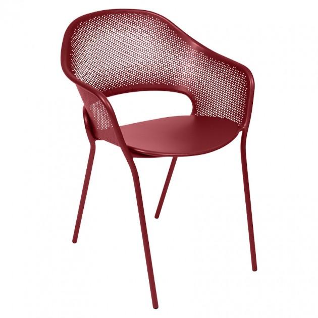 На фото: Садове крісло Kate (730243), Крісло Kate Fermob, каталог, ціна