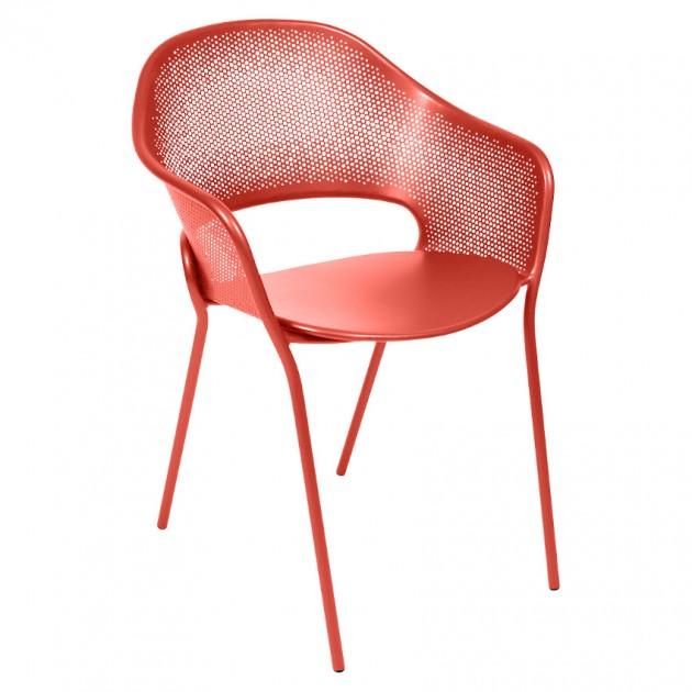 На фото: Садове крісло Kate (730245), Крісло Kate Fermob, каталог, ціна