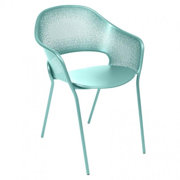 На фото: Садове крісло Kate (730246), Крісло Kate Fermob, каталог, ціна