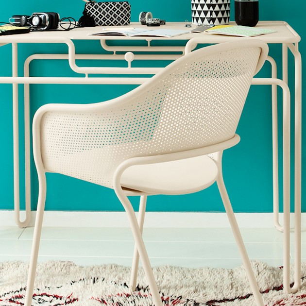 На фото: Садове крісло Kate (730201), Крісло Kate Fermob, каталог, ціна