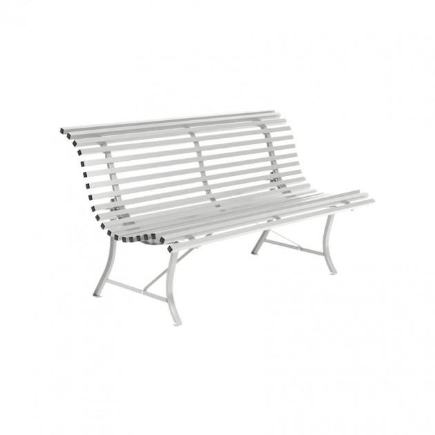 На фото: Лавка Louisiane 1000 Steel Grey (100038), Лавка Louisiane 1000 Fermob, каталог, ціна