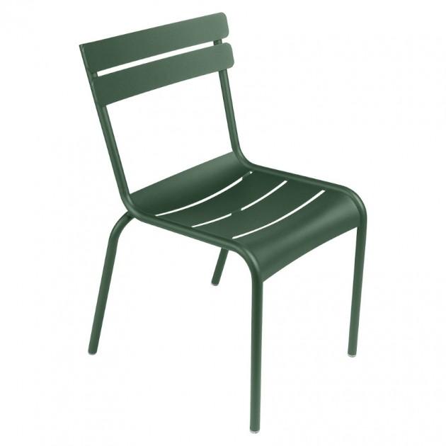 На фото: Стілець Luxembourg 4101 Cedar Green (410102), Стілець Luxembourg Fermob, каталог, ціна