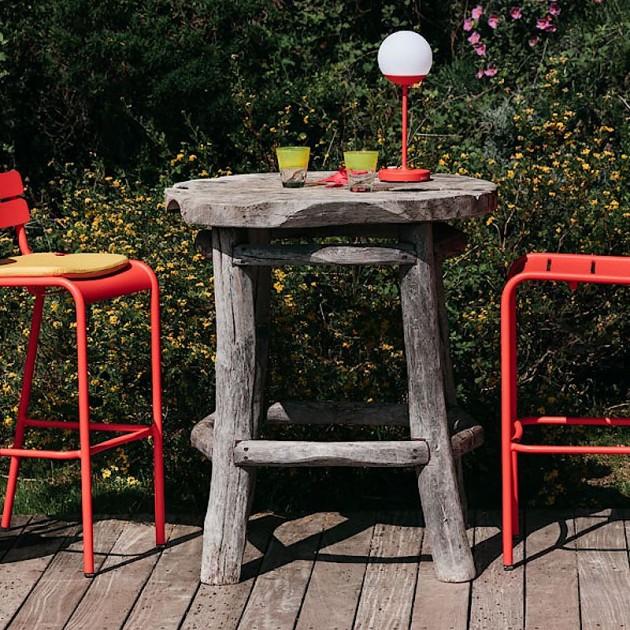 На фото: Барний стілець Luxembourg 4103 Capucine (410345), Барний стілець Luxembourg Fermob, каталог, ціна