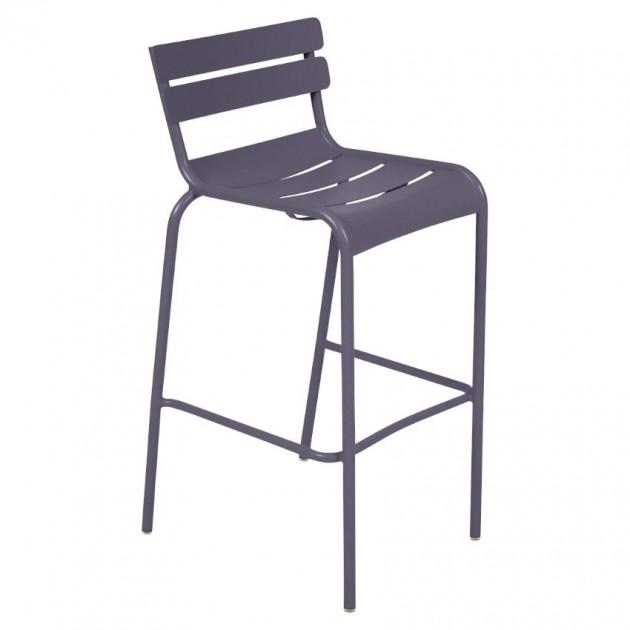 На фото: Барний стілець Luxembourg 4103 Plum (410344), Барний стілець Luxembourg Fermob, каталог, ціна