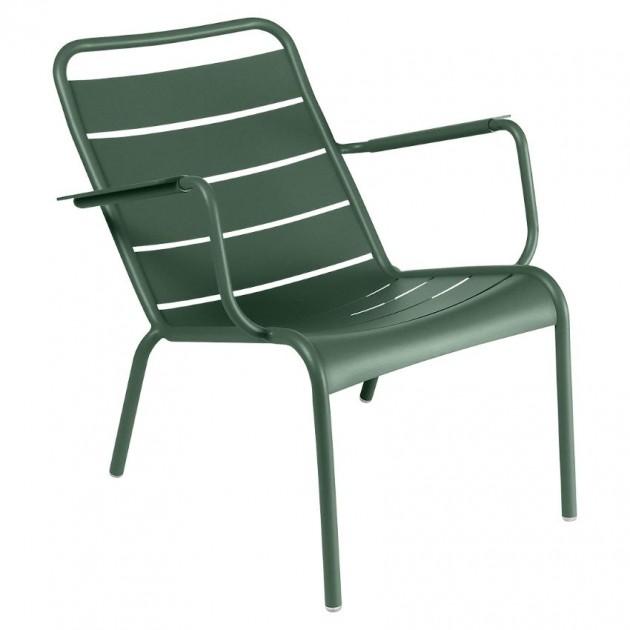 На фото: Крісло Luxembourg 4104 Cedar Green (410402), Металеві крісла Fermob, каталог, ціна