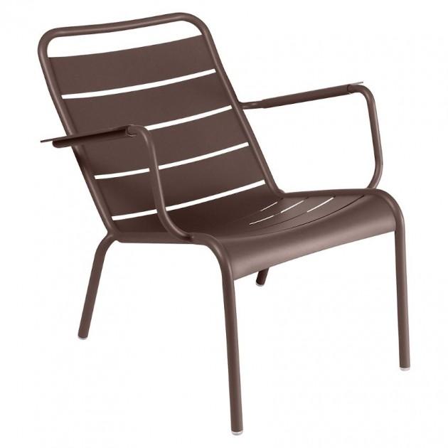 На фото: Крісло Luxembourg 4104 Russet (410409), Металеві крісла Fermob, каталог, ціна
