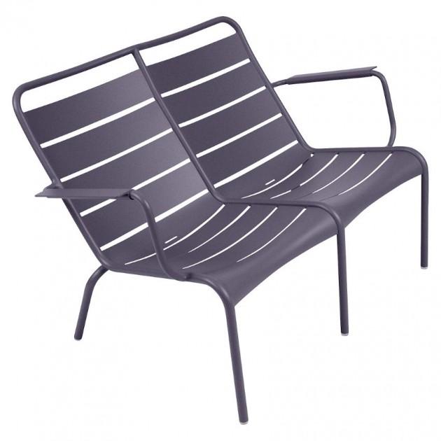 На фото: Подвійне крісло Luxembourg Duo 4105 Plum (410544), Подвійне крісло Luxembourg Fermob, каталог, ціна