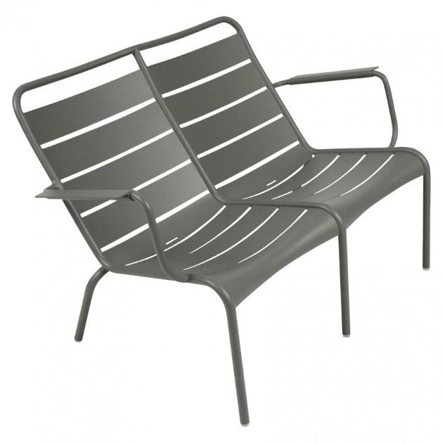 На фото: Подвійне крісло Luxembourg Duo 4105 Rosemary (410548), Подвійне крісло Luxembourg Fermob, каталог, ціна