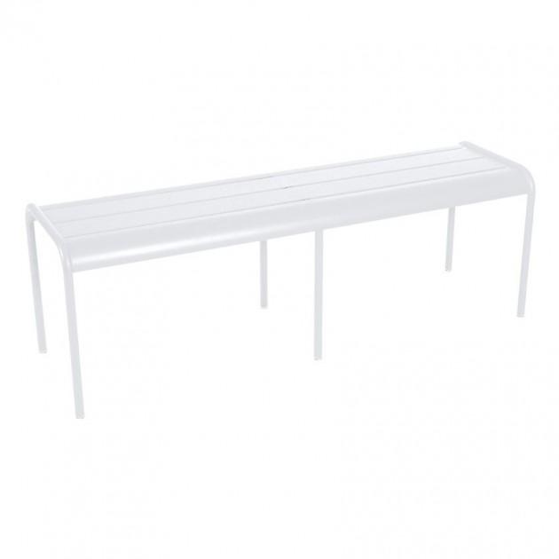 На фото: Лавка Luxembourg 4110 Cotton White (411001), Лавка Luxembourg Fermob, каталог, ціна