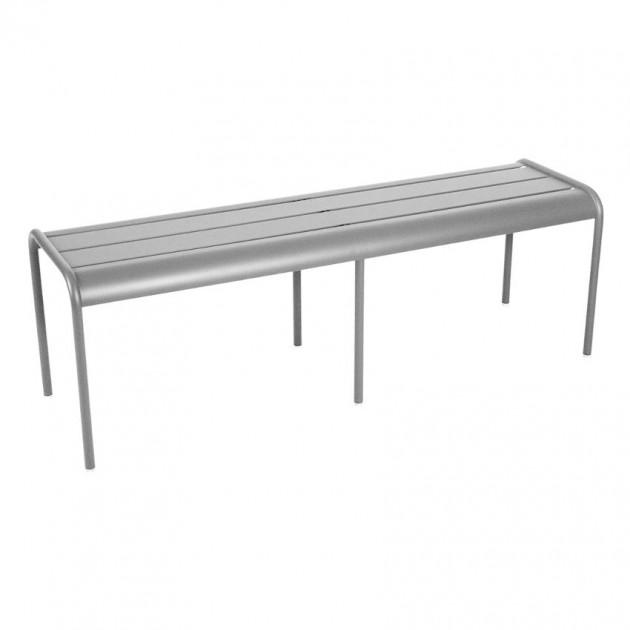 На фото: Лавка Luxembourg 4110 Steel Grey (411038), Лавка Luxembourg Fermob, каталог, ціна