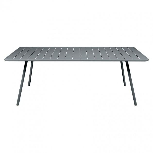 На фото: Обідній стіл Luxembourg 4132 Storm Grey (413226), Стіл Luxembourg 207x100 Fermob, каталог, ціна