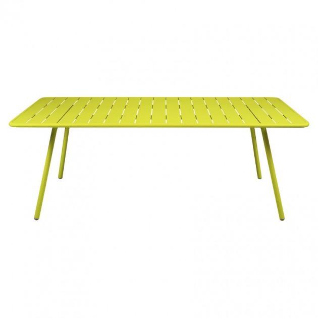 На фото: Обідній стіл Luxembourg 4132 Verbena (413229), Стіл Luxembourg 207x100 Fermob, каталог, ціна