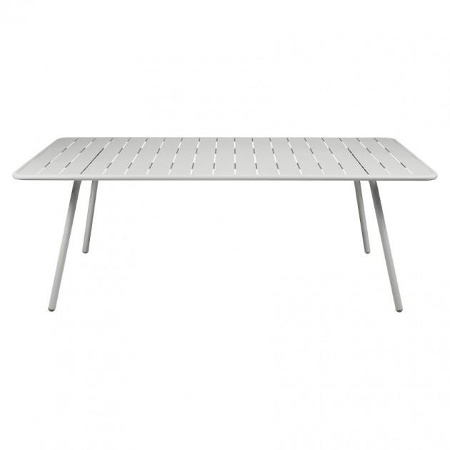 На фото: Обідній стіл Luxembourg 4132 Steel Grey (413238), Стіл Luxembourg 207x100 Fermob, каталог, ціна