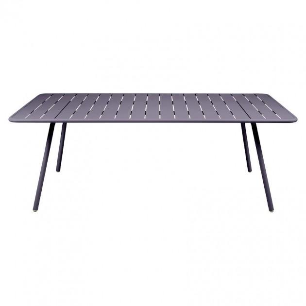 На фото: Обідній стіл Luxembourg 4132 Plum (413244), Стіл Luxembourg 207x100 Fermob, каталог, ціна