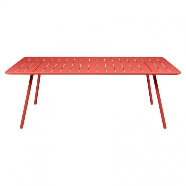 На фото: Обідній стіл Luxembourg 4132 Capucine (413245), Стіл Luxembourg 207x100 Fermob, каталог, ціна