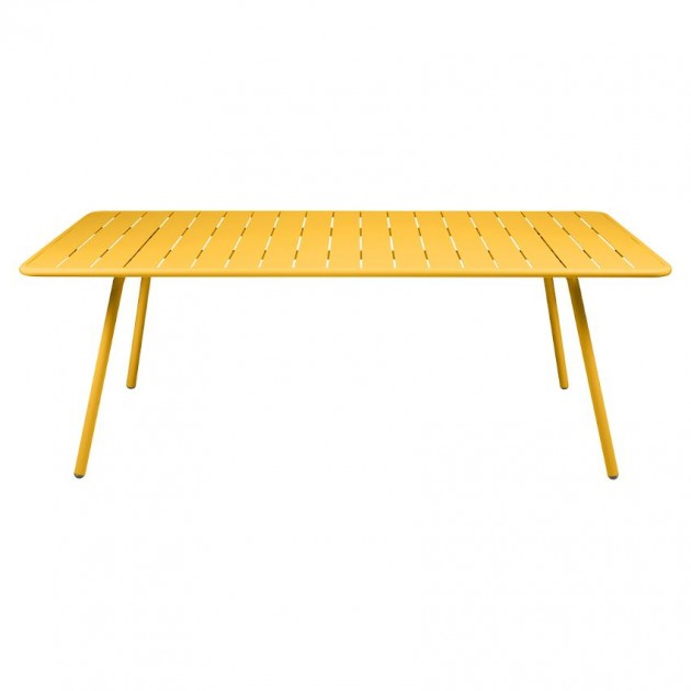 На фото: Обідній стіл Luxembourg 4132 Honey (413273), Стіл Luxembourg 207x100 Fermob, каталог, ціна
