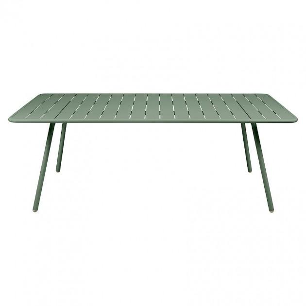 На фото: Обідній стіл Luxembourg 4132 Cactus (413282), Стіл Luxembourg 207x100 Fermob, каталог, ціна