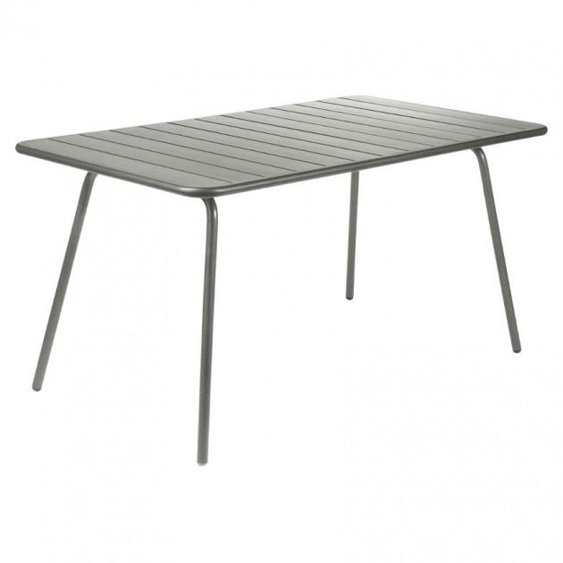 На фото: Обідній стіл Luxembourg 4133 Rosemary (413348), Стіл Luxembourg 143x80 Fermob, каталог, ціна