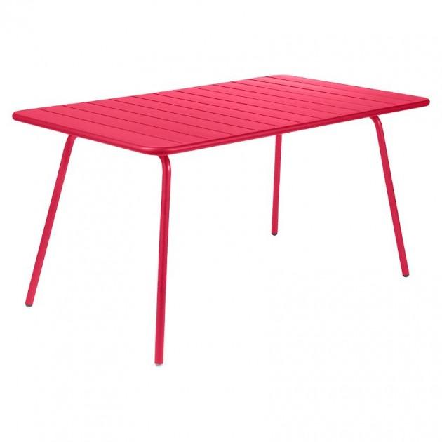 На фото: Обідній стіл Luxembourg 4133 Pink Praline (413393), Стіл Luxembourg 143x80 Fermob, каталог, ціна