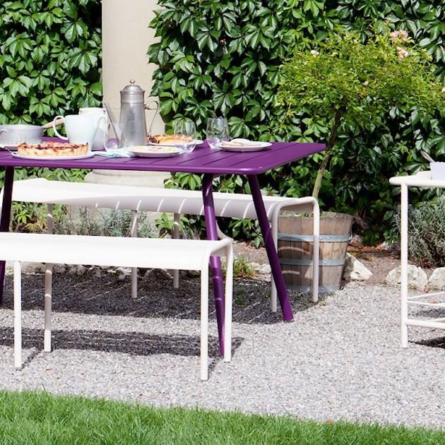 На фото: Обідній стіл Luxembourg 4136 Plum (413644), Стіл Luxembourg 165x100 Fermob, каталог, ціна