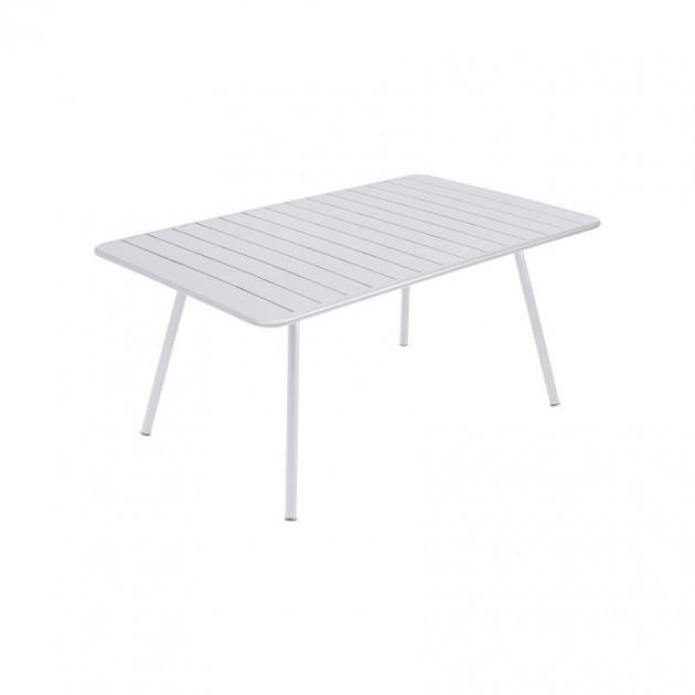 На фото: Обідній стіл Luxembourg 4136 Cotton White (413601), Стіл Luxembourg 165x100 Fermob, каталог, ціна