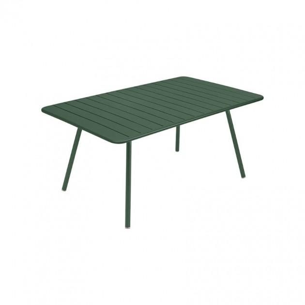 На фото: Обідній стіл Luxembourg 4136 Cedar Green (413602), Стіл Luxembourg 165x100 Fermob, каталог, ціна
