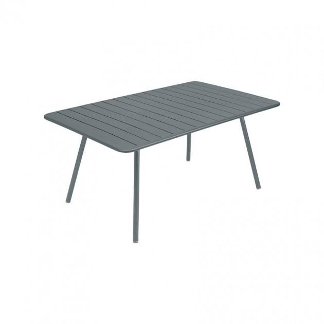 На фото: Обідній стіл Luxembourg 4136 Storm Grey (413626), Стіл Luxembourg 165x100 Fermob, каталог, ціна