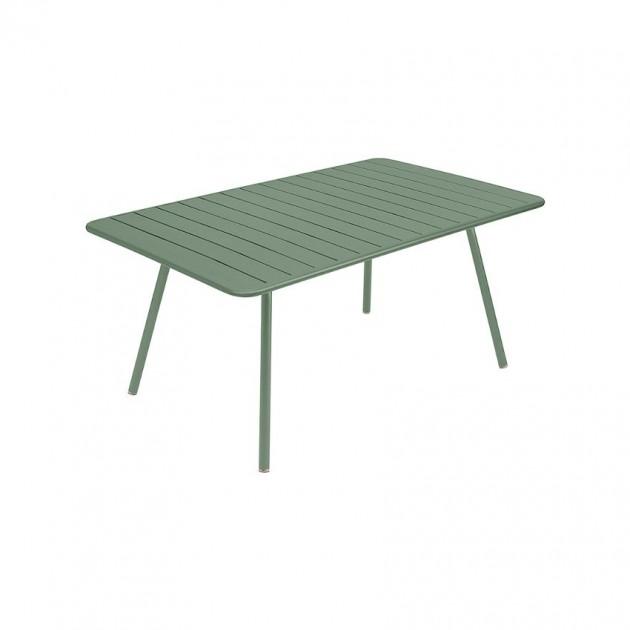 На фото: Обідній стіл Luxembourg 4136 Cactus (413682), Стіл Luxembourg 165x100 Fermob, каталог, ціна