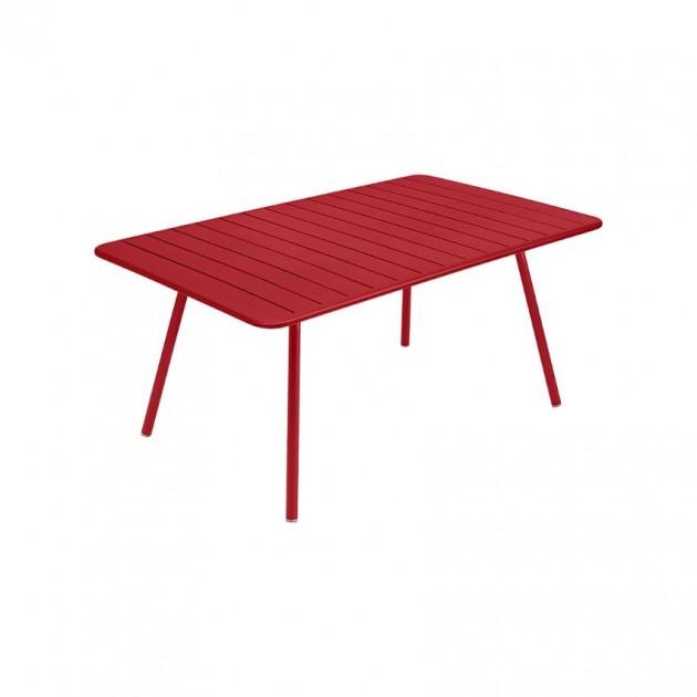 На фото: Обідній стіл Luxembourg 4136 Poppy (413667), Стіл Luxembourg 165x100 Fermob, каталог, ціна