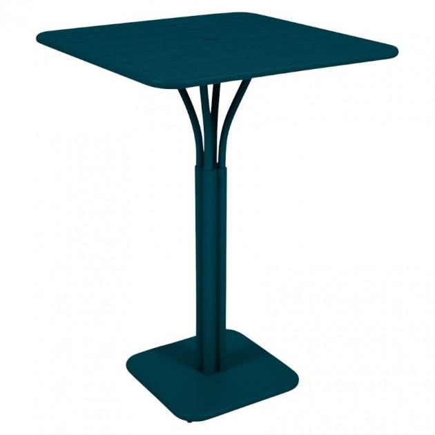 На фото: Барний стіл Luxembourg 4140 Acapulco Blue (414021), Барні столи Fermob, каталог, ціна