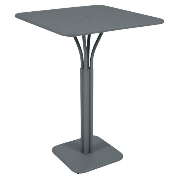 На фото: Барний стіл Luxembourg 4140 Storm Grey (414026), Барні столи Fermob, каталог, ціна