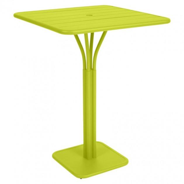 На фото: Барний стіл Luxembourg 4140 Verbena (414029), Барний стіл на центральній опорі Luxembourg Fermob, каталог, ціна