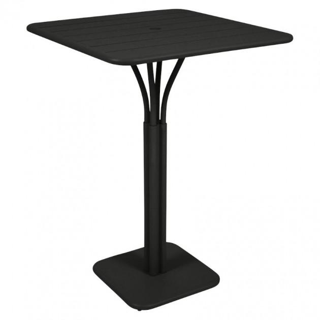 На фото: Барний стіл Luxembourg 4140 Liquorice (414042), Барні столи Fermob, каталог, ціна
