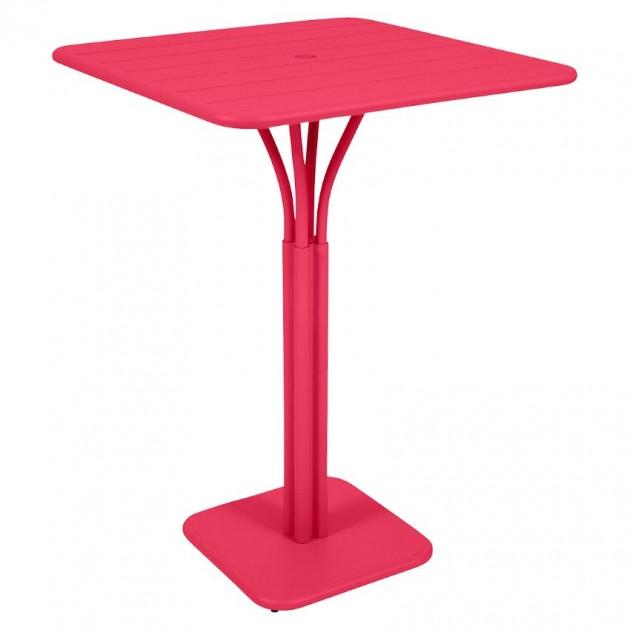 На фото: Барний стіл Luxembourg 4140 Pink Praline (414093), Барний стіл на центральній опорі Luxembourg Fermob, каталог, ціна