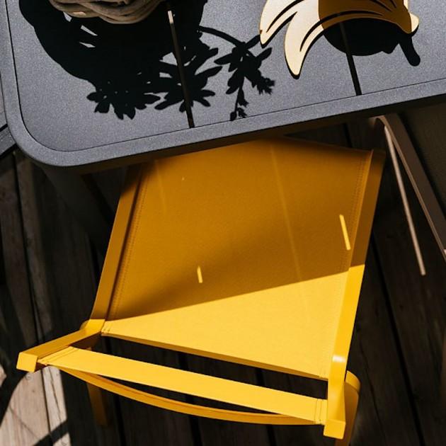 На фото: Cтілець Oléron 5501 Fuchsia (550125), Стілець Oléron Fermob, каталог, ціна